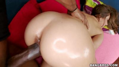Teens Big Ass Gets Oiled Up