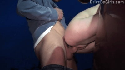 Dirty Teen Giving Blowjob In Road And Fucked
