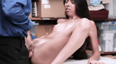She Is Getting Fucked By Cop In Front Of Her Mom