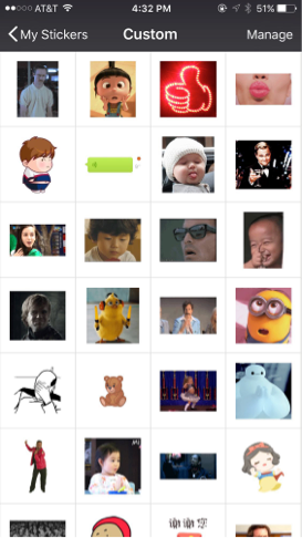 my personal collection of WeChat stickers