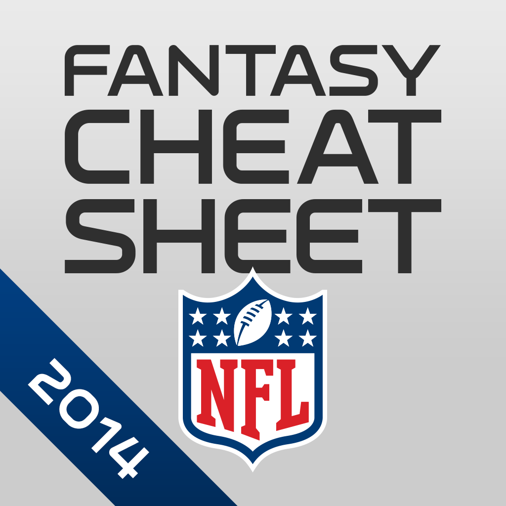 Nfl Fantasy Football Cheat Sheet Amp Draft Kit Iphone Ios App