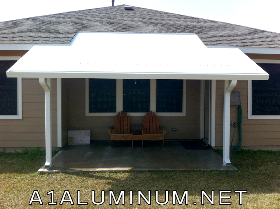 super pitch aluminum patio cover and