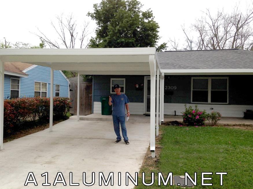 aluminum carport and patio cover in