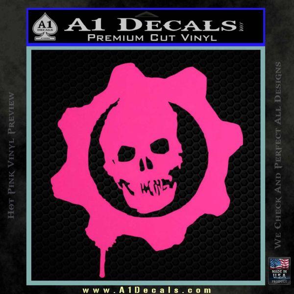 Gears Of War Decal Sticker Logo 187 A1 Decals