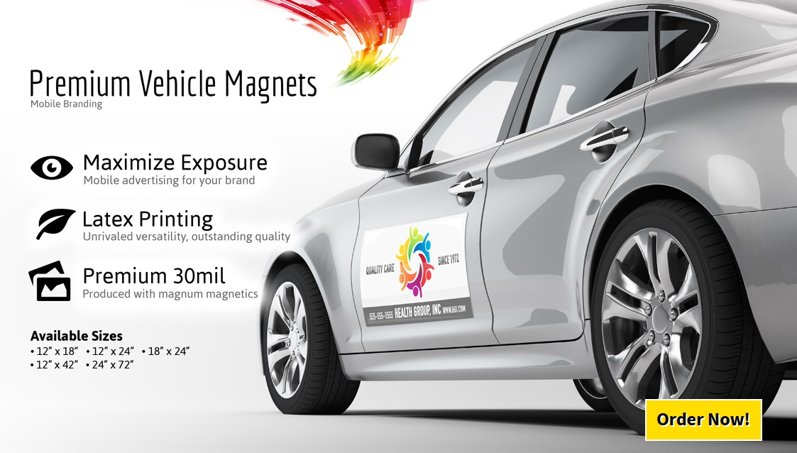 Magnetic - Custom magnets for cars   promote your brand