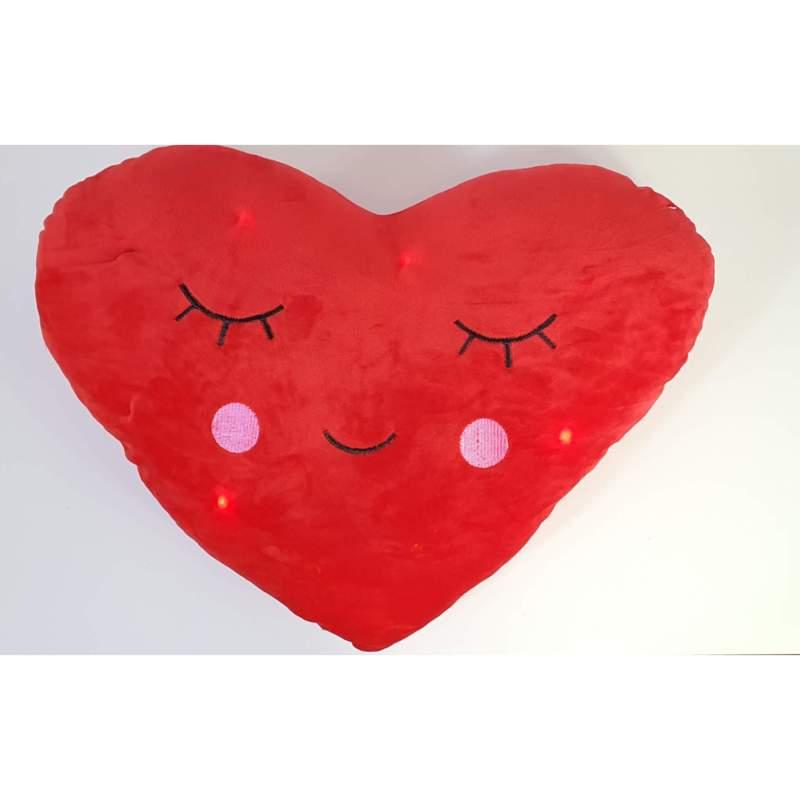 وسادة قلب حب