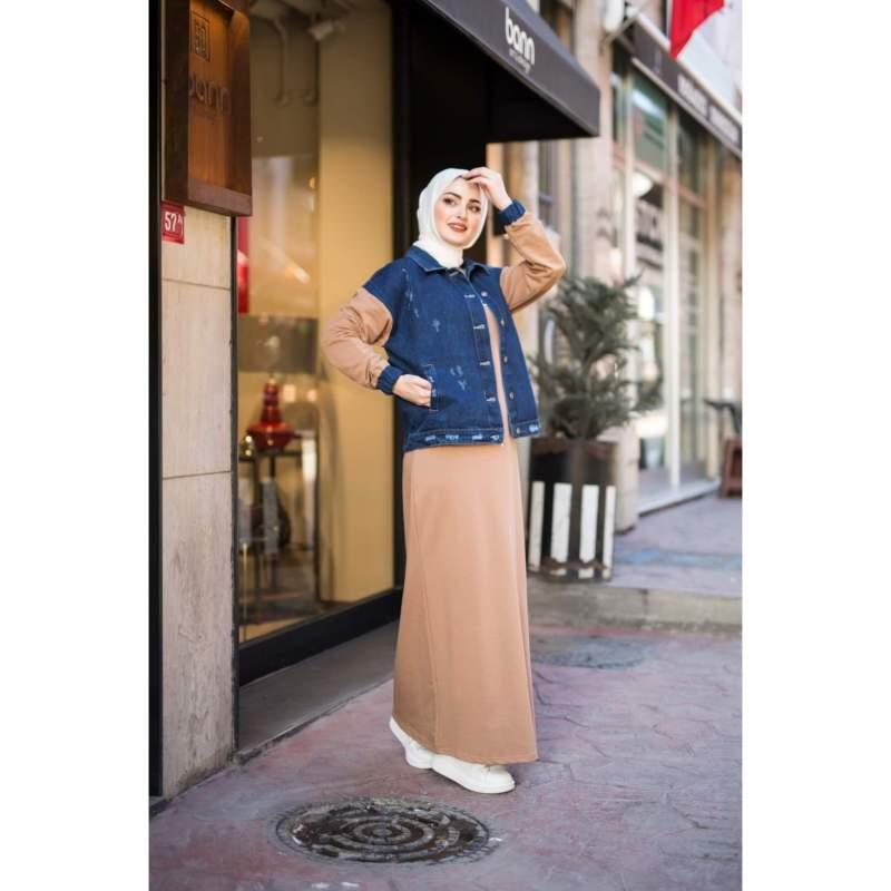 طقم فستان و جاكيت
