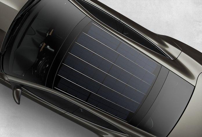 new solar car roof for the new karma revero