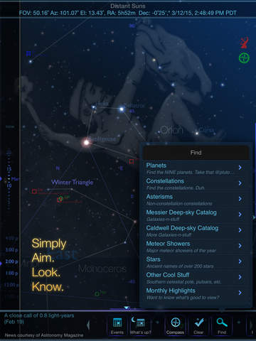Distant Suns: The new way to look at the sky Screenshot