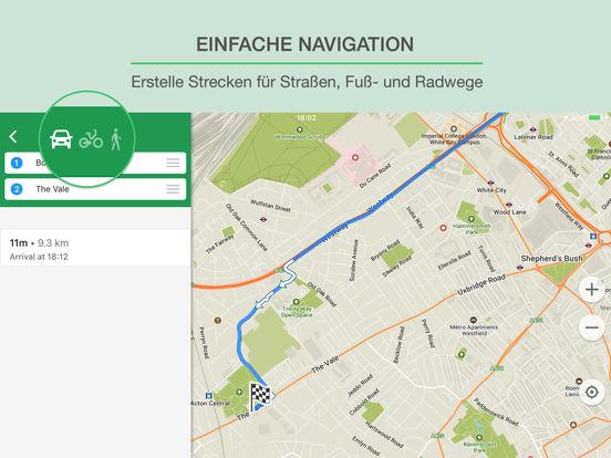 MAPS.ME – Offline Karten und GPS Routenplaner Screenshot