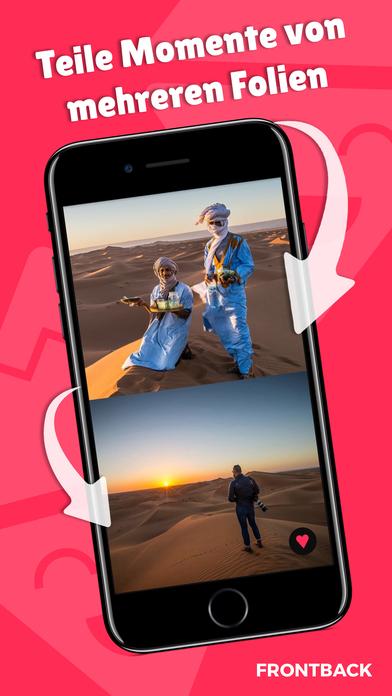 Frontback - Soziale Photos Screenshot