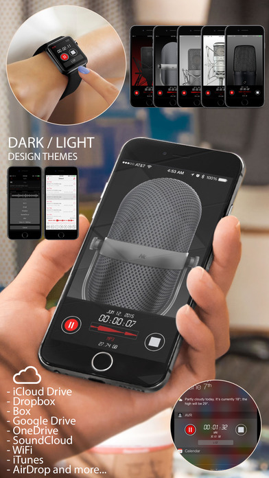 Awesome Voice Recorder Pro - Mp3 Audio Recording Screenshot