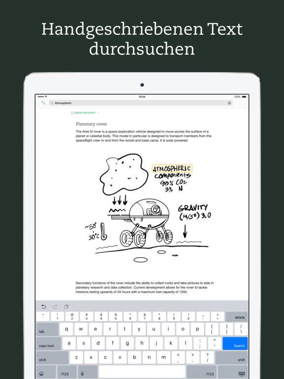 Evernote – immer gut organisiert Screenshot