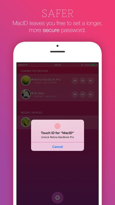 MacID Screenshot