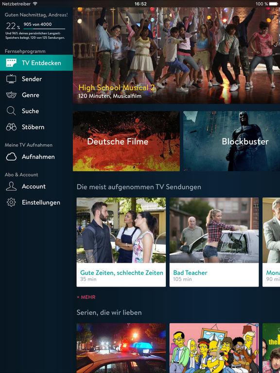 YouTV - Videorekorder für TV und Fernsehen Screenshot