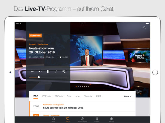 ZDFmediathek Screenshot