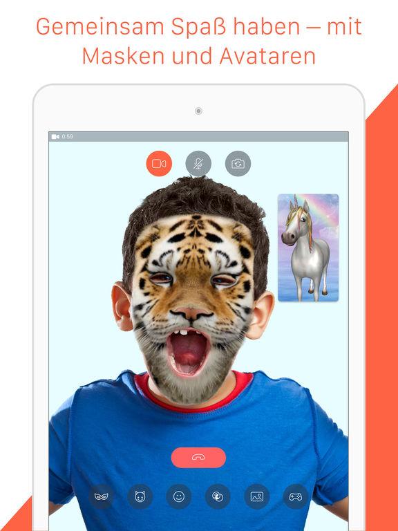 Tango - Gratis SMS und Videoanrufe Screenshot