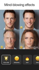 FaceApp: Free Neural Face Transformation Filters