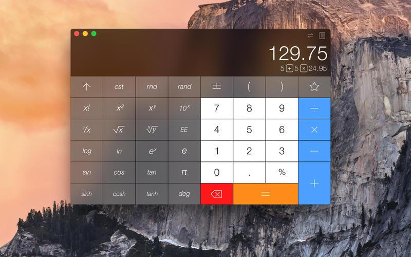 Calcbot for Mac 1.0.6 破解版 - 功能强大的专业计算器