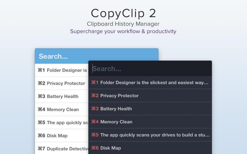CopyClip 2 for Mac 2.8 破解版 - 优秀的剪切板增强工具
