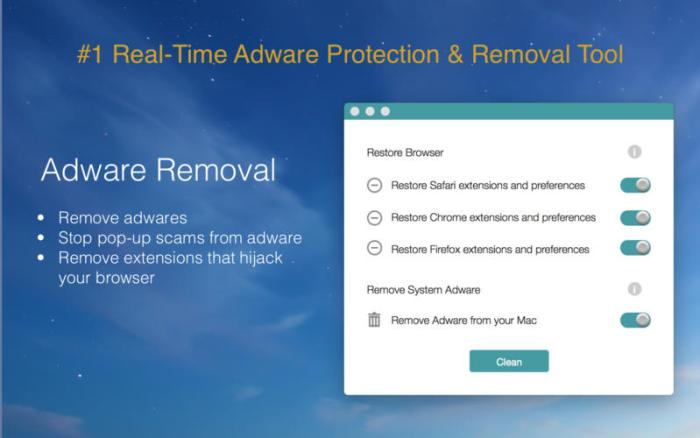 Adware Removal 1 0 1 download free | Mac Torrent Download