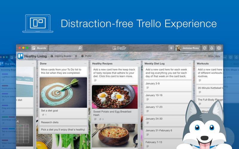 Paws for Trello for Mac 2.1.3 激活版 - Trello客户端