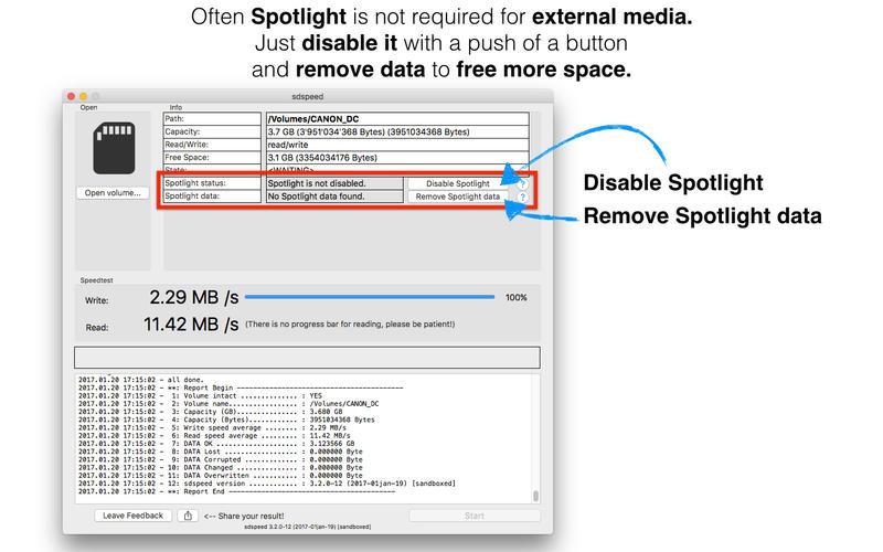 sdspeed for Mac 3.0.1 破解版 - SD卡速度和稳定性检测工具
