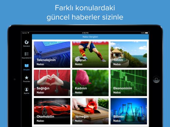 Nabız: Size Özel Anlık Haber Screenshot