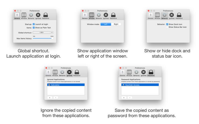 Clipboard Manager for Mac 2.2.0 破解版 - 多功能剪切板历史管理工具