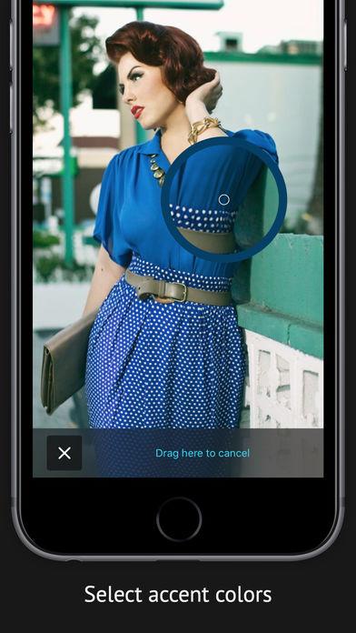 Screenshot do app Color Accent