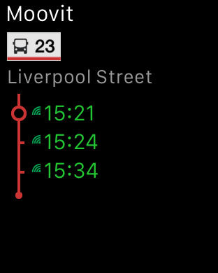 Moovit: Transport App. Bus Tube & Rail Timetables Screenshot