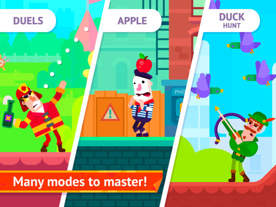 Bowmasters - Top Multiplayer Bowman Archery Game Screenshot