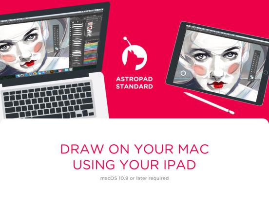 Screenshot do app Astropad Standard