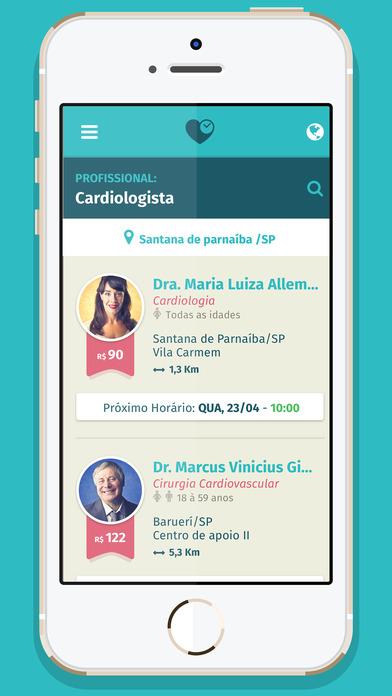 Screenshot do app Consulta do Bem