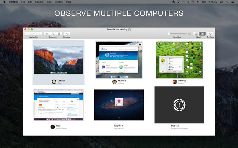 Remotix for Mac 4.1.2 破解版 - 优秀的远程桌面工具