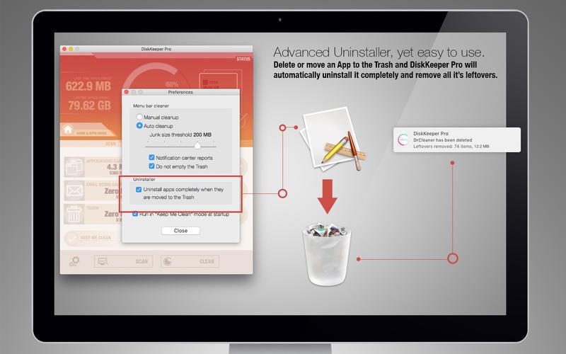 DiskKeeper Pro for Mac 1.4.13 激活版 – 优秀的系统清理和软件卸载工具-麦氪派(WaitsUn.com | 爱情守望者)