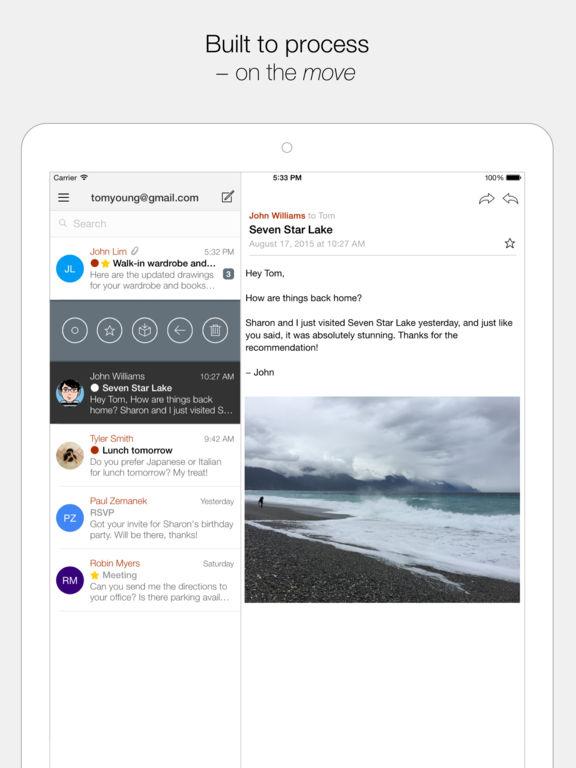 Dispatch: Email meets GTD Screenshot