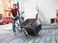 schräglage fahrrad