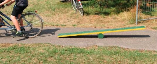 fahrrad wippe selbst gebaut