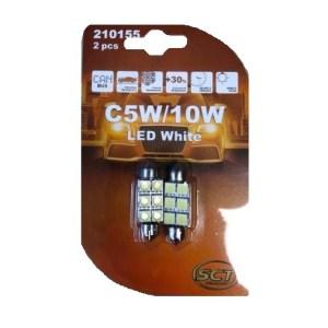 SCT  Spuldze LED 12V – C10W