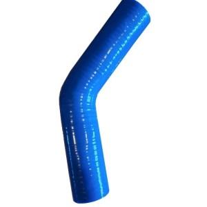 Silikona caurule 45 mm (45 grādos)