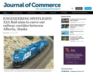 A2A Alaska To Alberta Rail Journal of Commerce 1