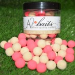 Fluro pink and White Creamy Toffee Pop ups
