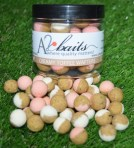 70/30 Washed Pink and White Creamy Toffee Wafters