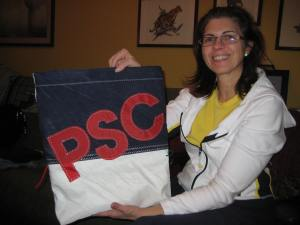 Bowline Bag donated for the Pentagon Sailing Club holiday auction