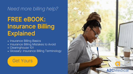 Free ebook with physical therapy billing guidelines.