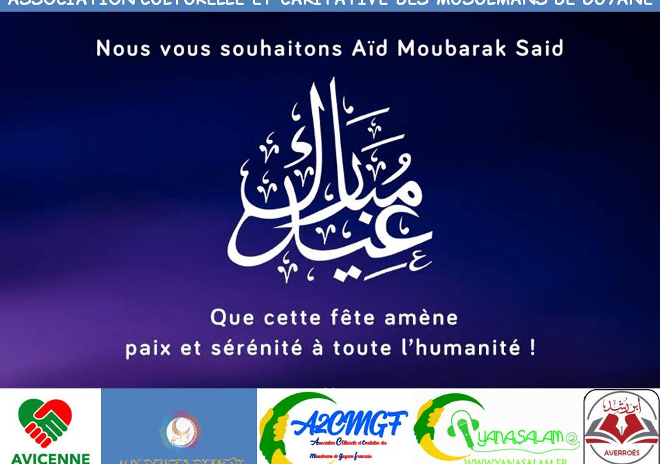 Aïd Adha Moubarek Said