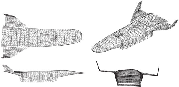 Modeling of Hypersonic Vehicle Flight Dynamics for Control Design and Evaluation (1)