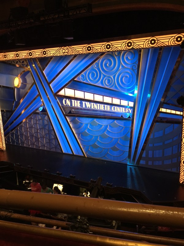"""Full Speed Ahead """"On the 20th Century"""" Broadway revival ..."""