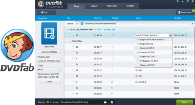 DVDFab Crack 11 Full Version Torrent Free Download